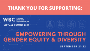 Thank you for supporting the 2021 WBC Summit