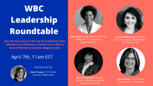 WBC Leadership Roundtable: Leading in 2021