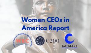Women CEOs in America Report