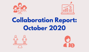 Collaboration Report: October 2020