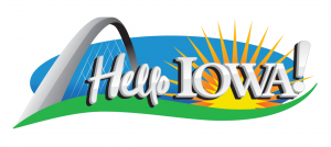Hello Iowa logo
